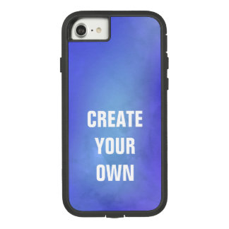 Create Your Own Blue Watercolor Painting Case-Mate Tough Extreme iPhone 8/7 Case
