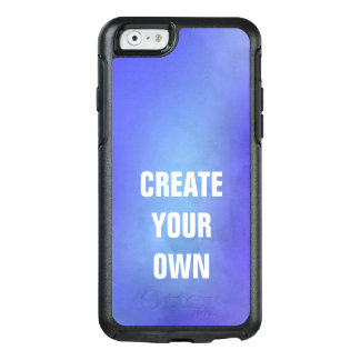 Create Your Own Blue Watercolor Painting OtterBox iPhone 6/6s Case