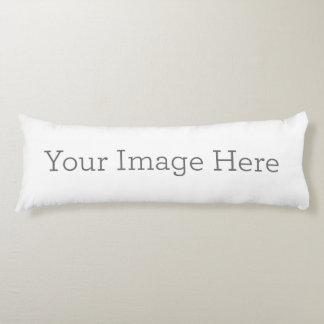 Create Your Own Body Pillow Body Cushion