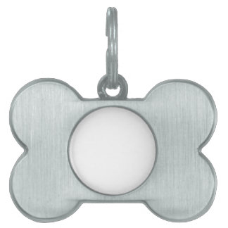 Create Your Own Bone Pet Tag