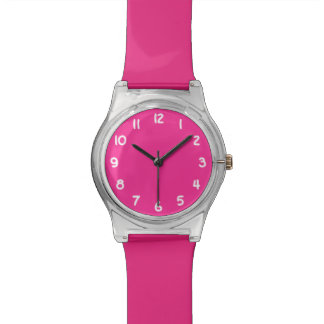 Create Your Own Bright Pink Watch