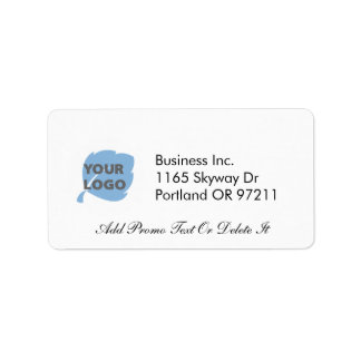 Create Your Own Business Address Label