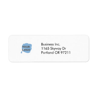 Create Your Own Business Return Address Label