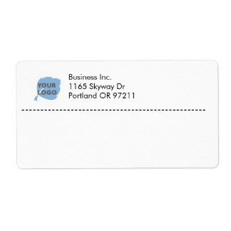 Create Your Own Business Shipping Label