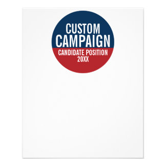 Create Your Own Campaign Gear 11.5 Cm X 14 Cm Flyer