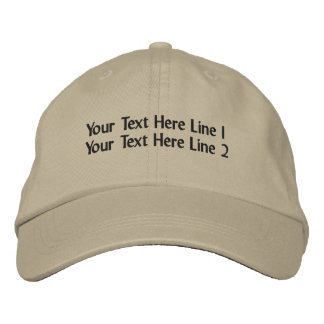 Create Your Own Cap Embroidered Baseball Cap