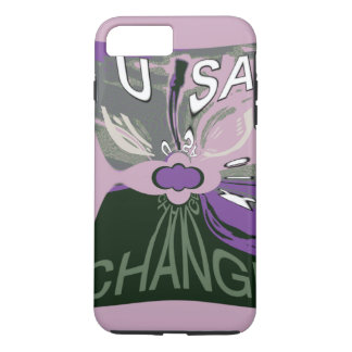 Create Your Own Change in USA iPhone 8 Plus/7 Plus Case