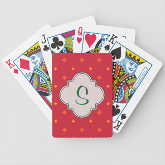 Create Your Own Christmas Patterned Holiday Bicycle Playing Cards