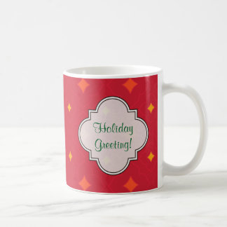 Create Your Own Christmas Patterned Holiday Coffee Mug