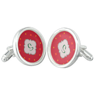 Create Your Own Christmas Patterned Holiday Cufflinks