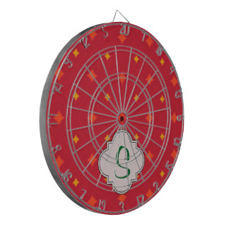Create Your Own Christmas Patterned Holiday Dartboard