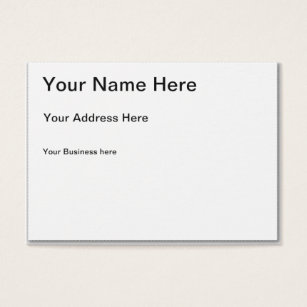 Business cards business card printing zazzle create your own chubby business card colourmoves