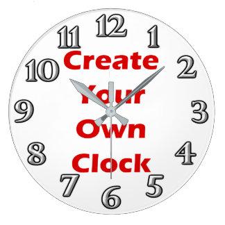 Create Your Own Clock Design