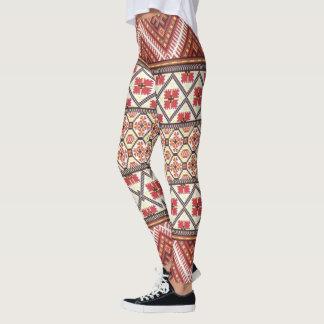 Create Your Own Colorful Aztec Hakuna Matata Leggings