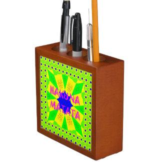 Create Your Own Colorful Hakuna Matata cute pretty Desk Organiser