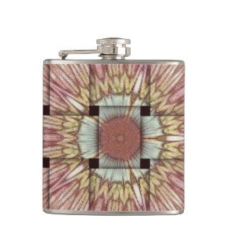 Create Your Own Colorful Hakuna Matata cute pretty Hip Flask