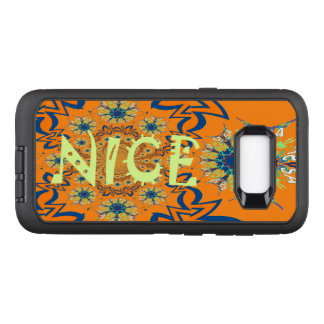 Create Your Own Colorful Nice lovely pattern Logo OtterBox Defender Samsung Galaxy S8+ Case