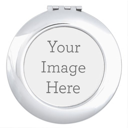 Create Your Own Compact Mirror - Round