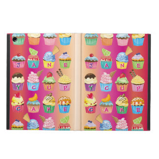 Create Your Own Cupcake Monogram Delicious Treats iPad Air Cover