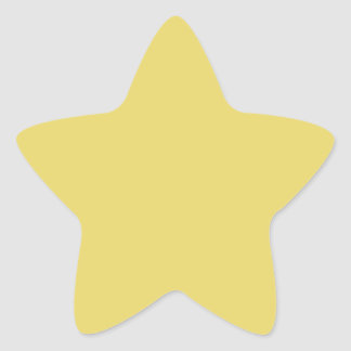 Create Your Own Custom Arylide Yellow Star Stickers