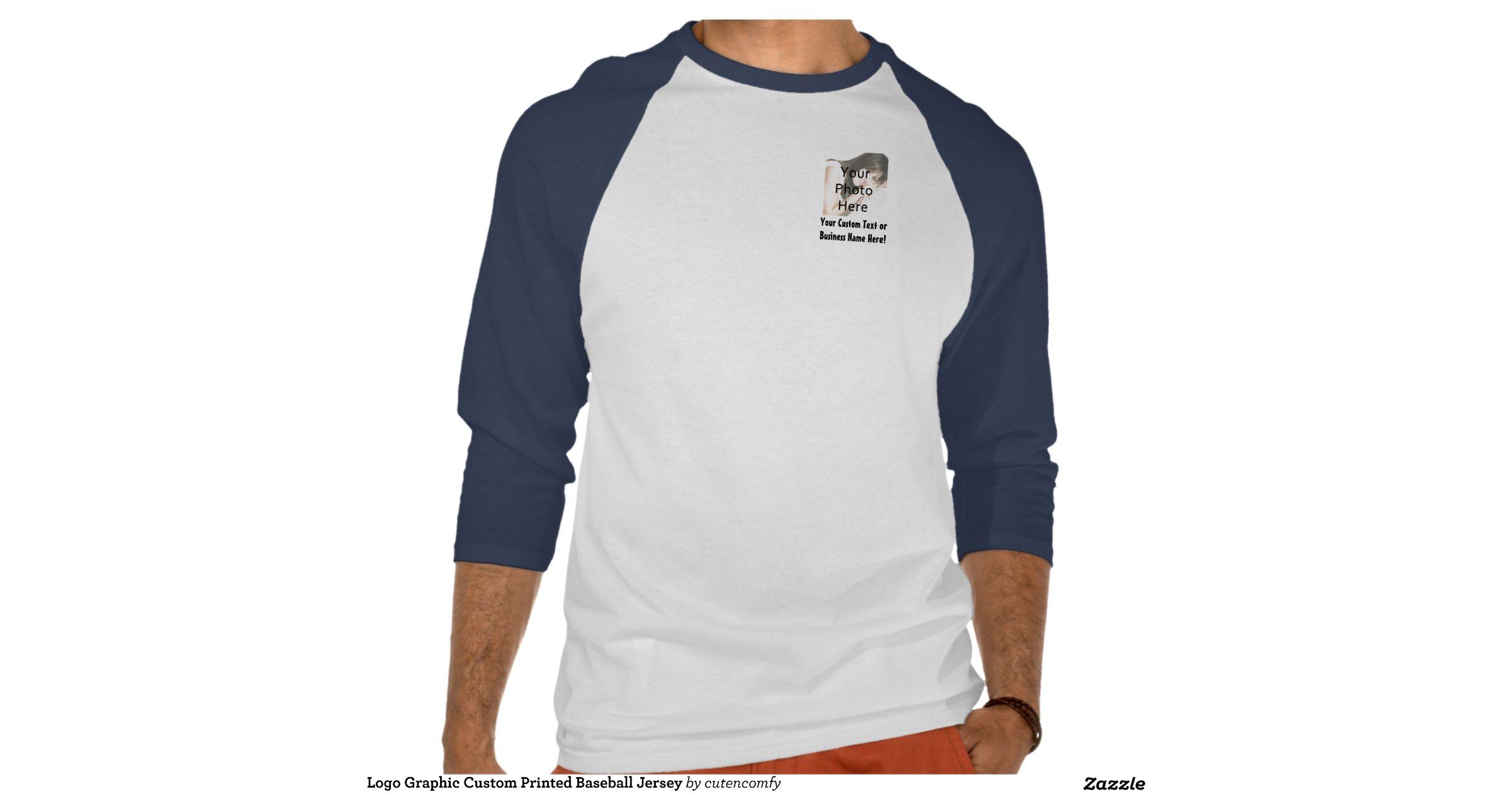 Create Your Own Custom Baseball Jersey Tee Shirts Zazzle
