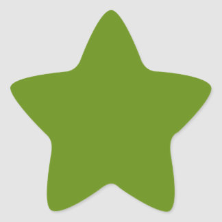 Create Your Own Custom Bitter Lime Star Stickers
