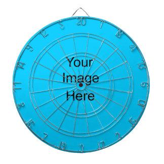 Create your own Custom Dart Board aqua blue 00ccff