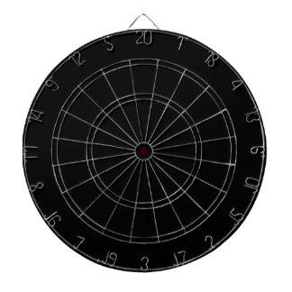 Create your own Custom Dart Board Custom Black