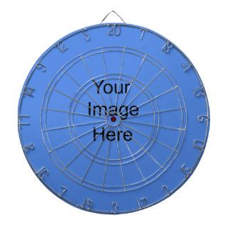 Create your own Custom Dart Board Custom Blue