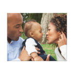 Create Your Own Custom Family Photo Stretched Canvas Print
