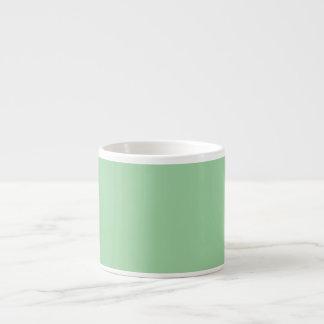 Create Your Own Custom Irish Sea Green Espresso Mug