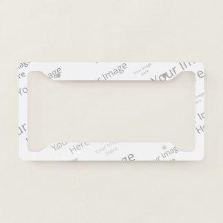 Create Your Own Custom Licence Plate Frame