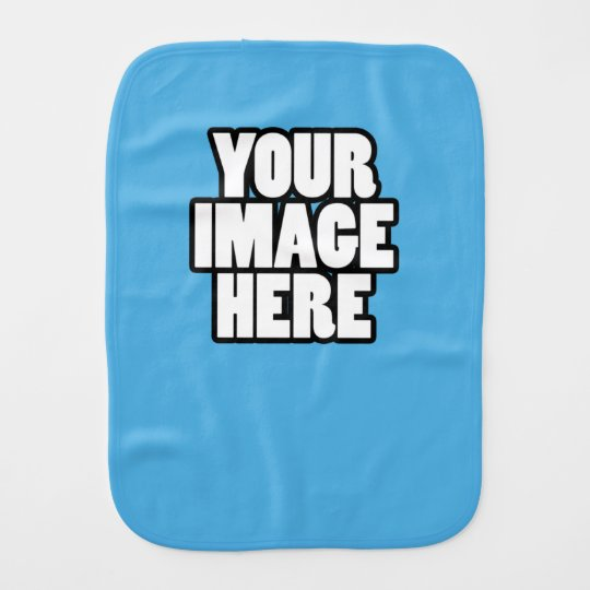 Create Your Own Custom Made Personalised Burp Cloth