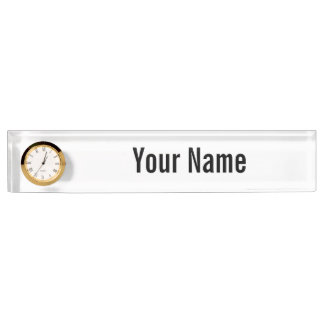 Create Your Own Custom Nameplate
