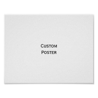 Create Your Own Custom Personalized Wall Poster