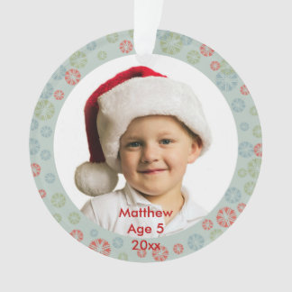 Create Your Own Custom Photo Christmas Design Ornament