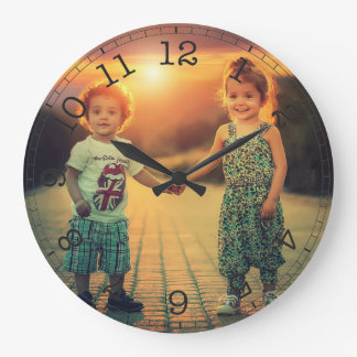 Create Your Own Custom Photo Modern Large Clock