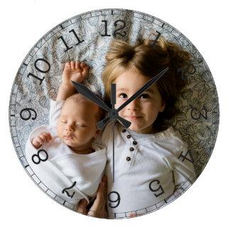 Create Your Own Custom Photo Modern Large Clock