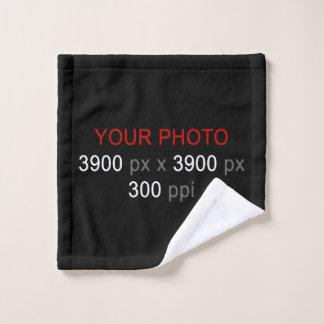 "Create Your Own Custom Photo Wash Cloth 13"" x 13"""