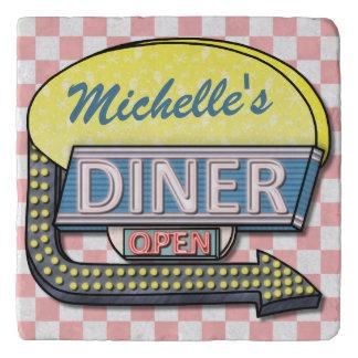 Create Your Own Custom Retro 50's Diner Sign Trivet