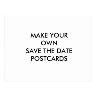 Create Your Own Custom Save the Date Postcard
