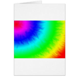 create your own custom tie dye template card