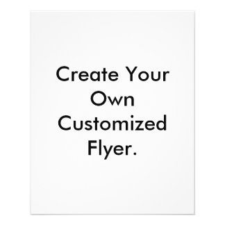 Create Your Own Customized Flyer. 11.5 Cm X 14 Cm Flyer