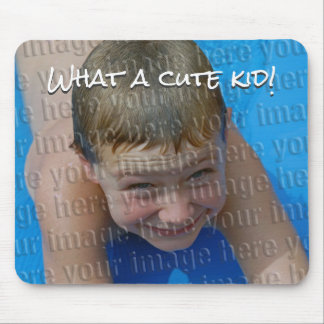 Create Your Own Cute Kid Photo Mousepad
