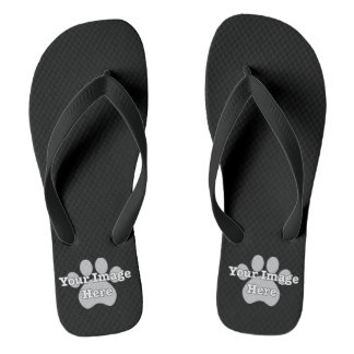 Create Your Own Dark Flip Flops