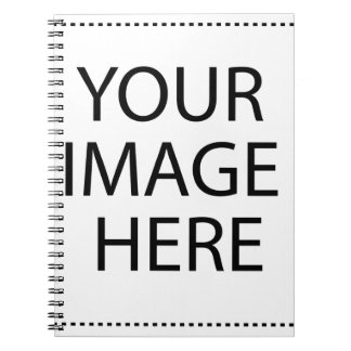 Create your own design & text spiral notebook