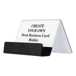Create Your Own Desk Business Card Holder