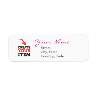 Create-your-Own DIY Address Labels Editable
