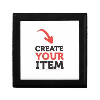 CREATE-YOUR-OWN DIY Custom Print (Color Options) Gift Box