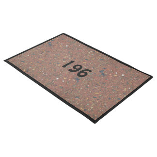 Create your own door mat with number